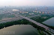 La beauté moderne de Hanoï prise de vue aérienne