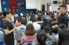 L'ONU forme des étudiants de Phu Yen à la résilience au changement climatique
