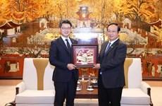 Hanoï renforce sa coopération avec la préfecture japonaise de Fukuoka