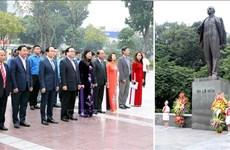 Hanoï : commémoration du 102e anniversaire de la Révolution d'Octobre russe