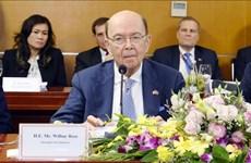 Célébration du 25e anniversaire de la fondation de la Chambre américaine de commerce à Hanoï