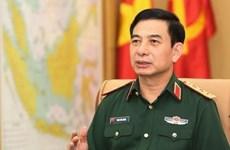 Une délégation militaire vietnamienne de haut rang en visite en Inde