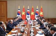 Le Premier ministre Nguyen Xuan Phuc en visite officielle en République de Corée
