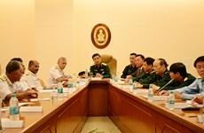 Poursuite des activités du général Phan Van Giang en Inde