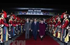 Le Premier ministre termine son séjour en République de Corée