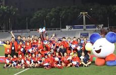 SEA Games 30: la vice-présidente adresse ses félicitations à la délégation vietnamienne