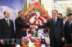 Vœux de Noël du FPV aux catholiques et protestants de Dak Lak