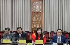 Renforcer la coopération entre l'antenne du FPV de Hanoï et le Comité national de la CCPPC du Xizang