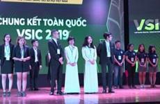 La phase finale du Vietnam Social Innovation Challenge (VSIC) 2019