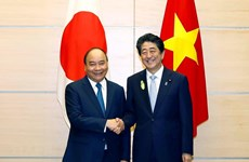 Le Premier ministre Nguyen Xuan Phuc félicite le Japon pour le succès du Sommet du G20