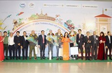 Ho Chi Minh-Ville accueille les premiers touristes étrangers de l'année 2020
