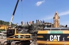 36 morts dans l'effondrement d'un immeuble à Kep