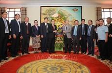 Les provinces de Thua Thien-Huê et de Savannakhet (Laos) renforcent leur coopération