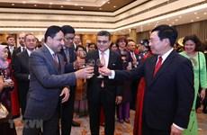 Tet traditionnel : rencontre avec le corps diplomatique à Hanoï