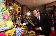 Hommage aux rois Hung à Ho Chi Minh-Ville