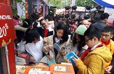 Ouverture de la Rue des livres du printemps de l'Année du Rat à Hanoï
