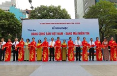 Diverses activités célébrant les 90 ans du Parti communiste du Vietnam