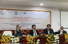 Le Vietnam participe au colloque international sur le bouddhisme en Inde