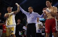 Le boxeur Truong Dinh Hoang remporte la ceinture de la WBA d'Asie