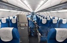 Vietnam Airlines: désinfection des vols internationaux de retour au Vietnam