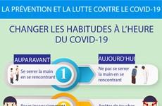 Changer les habitudes à l'heure du COVID-19