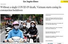 Des médias étrangers apprécient l'expérience vietnamienne dans sa lutte contre le COVID-19