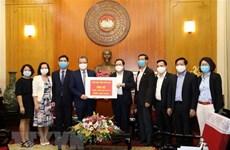 Des Vietnamiens en Thaïlande et en République de Corée soutiennent la lutte contre le COVID-19