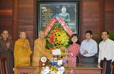 Vesak 2020: félicitations à des établissements bouddhiques à Dak Lak et Vinh Long