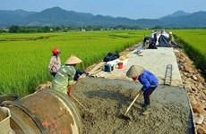 Hanoï prévoit d'avoir 10 districts répondant aux normes de la Nouvelle ruralité
