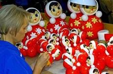 La Russie va expédier des poupées gigognes d'une valeur de plus de 1,3 million de dollars au Vietnam
