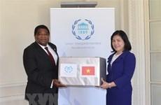 Le Vietnam offre des masques médicaux au secrétariat de l'UIP et à la ville de New York