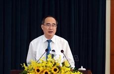 Ho Chi Minh-Ville s'efforce d'achever les travaux concernant les investissements publics