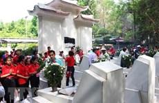 Les touristes affluent au carrefour de Dong Loc en juillet