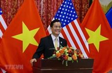 Célébration du 25e anniversaire de l'établissement des relations Vietnam-États-Unis à Washington D.C
