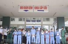 COVID-19 : 12 nouveaux patients guéris à Quang Ngai et à Da Nang