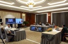 Conférence en ligne du commandant des forces de défense de la région d'Indo-Pacifique