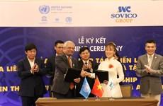 Le groupe SOVICO devient un partenaire stratégique des Nations Unies