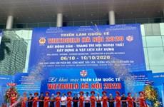 Ouverture de l'exposition internationale Vietbuild 2020 à Hanoï