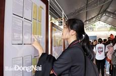 Exposition de cartes et d'archives sur les archipels de Hoang Sa et Truong Sa à Dong Nai