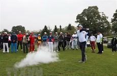 Près de 80 golfeurs au tournoi d'amitié Vietnam-Allemagne 2020