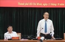 Ho Chi Minh-Ville achève les derniers préparatifs du Congrès de l'organisation locale du Parti