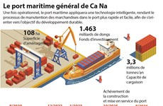 Le port maritime général de Ca Na
