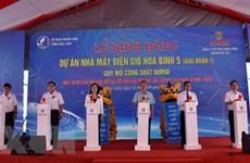 Mise en chantier de la centrale éolienne Hoa Binh 5 à Bac Lieu