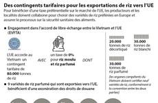Des contingents tarifaires pour les exportations de riz vers l'UE