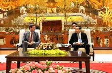 Hanoï renforce sa coopération avec la Banque asiatique de développement