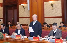 La 6e réunion du sous-comité d'organisation au service du 13e Congrès national du Parti