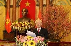 Nguyen Phu Trong appelle à construire un pays plus prospère et heureux