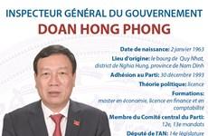 L'Inspecteur général du gouvernement Doan Hong Phong