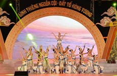 Phu Tho : programme artistique en commémoration des rois Hung