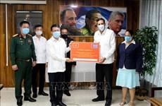 Messages et cadeaux du PCV pour féliciter le Parti communiste de Cuba pour son 8e Congrès
